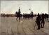 """Caran d'Ache (Emmanuel Poiré, 1858-1909). """"L'Epopée, scène du théâtre du Chat noir"""". Huile sur toile, 1899. Paris, musée Carnavalet. © Musée Carnavalet/Roger-Viollet"""