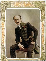 Edmond Rostand (1868-1918), French poet and dramatist. © Roger-Viollet