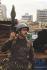 War in the Lebanon. Syrian soldier in Beirut. FDM-1413-3 © Françoise Demulder / Roger-Viollet