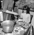 Meal. France, years 1970. © Roger-Viollet