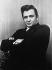 Johnny Cash (1932-2003), chanteur et musicien américain. © TopFoto / Roger-Viollet