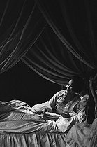 """""""The Marriage of Figaro"""" (Le Nozze di Figaro), opera by Wolfgang Amadeus Mozart. Christiane Eda-Pierre. Paris, Opéra Garnier, July 1976. © Colette Masson / Roger-Viollet"""