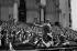 Algerian War (1954-1962). Procession of General Charles de Gaulle in front of the Grande Poste (post office). Algiers (Algeria), on June 4, 1958. © Bernard Lipnitzki / Roger-Viollet