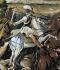 Guerre de religion. Henri IV à la Bataille d'Ivry, 14 mars 1590.  © Iberfoto / Roger-Viollet