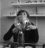 Colette (1873-1954), écrivain français, dans son institut de beauté, rue de Miromesnil. Paris, 1932.     © Boris Lipnitzki/Roger-Viollet