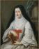 """Marie Parrocel. """"Madame de Montpeyroux, abbesse de Port-Royal de Paris en 1783"""". Huile sur toile. Paris, musée Carnavalet.  © Musée Carnavalet / Roger-Viollet"""