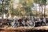 Guerre 1914-1918. Artillerie de 75. Verdun, septembre 1916. Fac-similé de plaque autochrome de Jules Gervais-Courtellemont. © Bilderwelt/Roger-Viollet