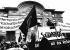 """Manifestation nationale pour la liberté syndicale en Pologne, avec pour slogan """"Solidarité avec Solidarnosc"""" et sous les banderoles de différents syndicats suisses. L'écrivain suisse Peter Bichsel. Berne (Suisse), 1980-1982. © Ullstein Bild / Roger-Viollet"""