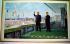 Kim Il-Sung (1912-1994), président de la Corée du Nord, et son fils Kim Jong-Il (1941-2011). Pyongyang (Corée du Nord), juin 1989. © Ullstein Bild / Roger-Viollet