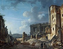 Pierre-Antoine Demachy (1723-1807). Clearing of the Perrault's Colonnade (or Colonnade du Louvre). Oil on canvas. Paris, musée Carnavalet. © Musée Carnavalet / Roger-Viollet