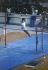 Jeux olympiques d'été de 1976. Nadia Comaneci (née en 1961), gymnaste roumaine, aux barres asymétriques. Montréal (Canada), 1976. © Alinari/Roger-Viollet