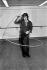 Joe Dassin (1938-1980), chanteur américain, répétant pour une émission de télévision, décembre 1972.   © Patrick Ullmann / Roger-Viollet
