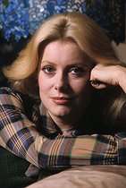 Catherine Deneuve (born in 1943), French actress. France, 1974. © Jean-Régis Roustan / Roger-Viollet