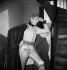 """Jean Weber dans """"L'Aiglon"""" d'Edmond Rostand. Gala donné pour l'érection de la statue de l'écrivain, à Cambo. Paris, théâtre du Châtelet, 1949. © Studio Lipnitzki/Roger-Viollet"""