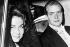 La princesse Sophie de Grèce (née en 1938), et son époux le prince Juan Carlos (né en 1938), héritier du trône d'Espagne, se rendant au Vatican. Rome (Italie), 4 juin 1962. © TopFoto/Roger-Viollet