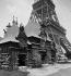 1889 World Fair in Paris. The Nicaragua pavilion. © Léon et Lévy / Roger-Viollet