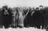 Révolution de février 1917. Régiment de mitrailleuses arrivant à Petrograd après sa défection. Février 1917. © Ullstein Bild/Roger-Viollet