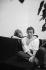 Serge Gainsbourg (1928-1991), chanteur et compositeur français et Jane Birkin (née en 1946), chanteuse et actrice anglaise. Paris, 1968. Photographie de Georges Kelaïditès (1932-2015). © Georges Kelaïditès / Roger-Viollet