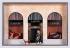 Maquette de la vitrine de la boutique Jeanne Lanvin, rue du Faubourg Saint- Honoré. Bois, tissu, métal, plâtre, vers 1955. Paris, musée Carnavalet.  © Eric Emo/Musée Carnavalet/Roger-Viollet