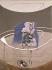 """Francis Bacon (1909-1992). """"Portrait d'un lit pliant"""", 1963. Londres (Angleterre), Tate Gallery. © TopFoto/Roger-Viollet"""