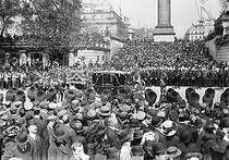 Funeral of King Edward VII of England (1841-1910). London (England), on May 20, 1910. © Maurice-Louis Branger/Roger-Viollet
