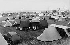 Grandcamp (Calvados). The camping site. 1950's. © CAP/Roger-Viollet