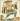 """André Derain (1880-1954). """"Pantagruel"""", page 46 représentant un messager. Gravure sur bois, édité avant 1943. Paris, musée d'Art moderne. © Musée d'Art Moderne/Roger-Viollet"""