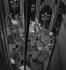 Mise en place d'une revue en coulisses. Paris, Folies Bergère, 1937-1939. © Gaston Paris / Roger-Viollet