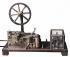"""Samuel Morse (1791-1872), physicien américain et inventeur du télégraphe. Télégraphe morse fonctionnant avec un ruban perforé """"Movilleron"""". (XXème siècle).  © Iberfoto / Roger-Viollet"""