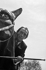 Salvador Dali (1904-1989), Spanish painter and engraver, at the Throne fair. Paris, May 1965. © Claude Poirier / Roger-Viollet
