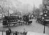 Circulation boulevard de la Madeleine. Paris (VIIIème et IXème arr.), mars 1910. © Maurice-Louis Branger/Roger-Viollet