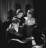 Yehudi Menuhin (1916-1999), Russian-born American violonist, with his sisters Hephzibah Menuhin (1920-1981), American pianist, and Yaltah Menuhin (1921-2001), American-born British writer and pianist. February 1936. © Boris Lipnitzki / Roger-Viollet