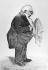 Mr Arlépaire. Caricature de Daumier (1808-1879). Paris, B.N.F. © Roger-Viollet