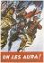 """Guerre 1939-1945. """"On les aura !"""" (reproduction). Affiche, sans date. Musée du Général Leclerc de Hauteclocque et de la Libération de Paris, musée Jean Moulin.  © Mémorial Leclerc - Musée Jean Moulin/Roger-Viollet"""
