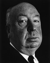 Alfred Hitchcock (1899-1980), English-born American director. London (England), 1966. © Fondation Horst Tappe / KEYSTONE Suisse / Roger-Viollet