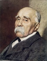 Georges Clemenceau (1841-1929), French statesman. © Roger-Viollet