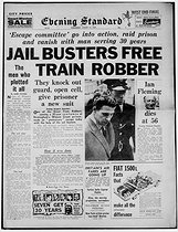 "August 8, 1929 (90 years ago) : Birth of Ronald Arthur Biggs (Ronnie, 1929-2013), British thief and ""brain"" of the attack on the Glasgow-London postal train in 1963"