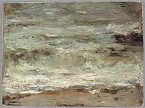 Alfred Philippe Roll (1846-1919). The Wave. Oil on canvas, 1911. Musée des Beaux-Arts de la Ville de Paris, Petit Palais. © Petit Palais / Roger-Viollet