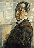"Piet Mondrian (1872-1944). ""Autoportrait"", 1918. © Ullstein Bild / Roger-Viollet"