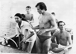 Rudolf Noureïev (1938-1993), danseur russe, et Margot Fonteyn (1919-1991), danseuse britannique.    © TopFoto / Roger-Viollet