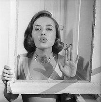 Jeanne Moreau (1928-2017), French actress. France, circa 1968. © Roger-Viollet