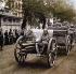Guerre 1914-1918. Revue militaire sur Unter den Linden. Berlin, 2 septembre 1914.   © Bilderwelt/Roger-Viollet