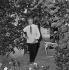 Jean Cocteau (1889-1963), French writer, dramatist and director. Saint-Jean-Cap-Ferrat (France), 1960. © Gaston Paris / Roger-Viollet