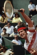 Roland-Garros French Open. John Mac Enroe (born in 1959). Paris, 1980. © Jean-Pierre Couderc/Roger-Viollet
