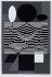 "Victor Vasarely (1906-1997). ""Gotha"". Sérigraphie. Paris, musée d'Art moderne. © Musée d'Art Moderne/Roger-Viollet"