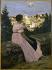 Jean-Frédéric Bazille (1841-1870). The pink dress. Paris, musée d'Orsay. © Roger-Viollet