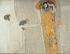 """Gustav Klimt (1862-1918). """"Frise de Beethoven"""". Découpage de compositions figuratives, 1902, Vienne. © Imagno/Roger-Viollet"""