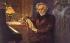 """Lionello Balestrieri (1872-1958). Hector Berlioz (1803-1869), compositeur français, composant """"Les Troyens"""". © Roger-Viollet"""
