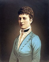 Alexandra (1844-1925), princess of Denmark, wife of prince of Wales, future Edward VII. © Roger-Viollet