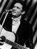 Johnny Cash (1932-2003), chanteur et musicien américain, 1972. © Ullstein Bild / Roger-Viollet